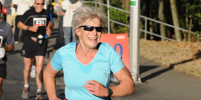 Elizabeth Model, CEO of Downtown Surrey BIA, completed her 50th Ironman this year. Photo: Ironman.com
